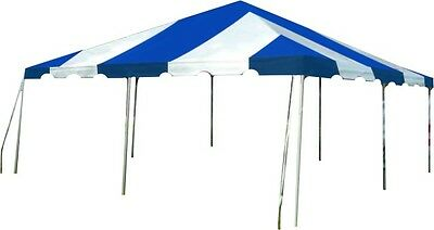 20 x 20 Blue Replacement TOP ONLY West Coast Frame Tent Tentandtable Awning