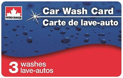 Petro-Canada™ Car Wash Card – Includes 3 SuperWorks™ Washes!