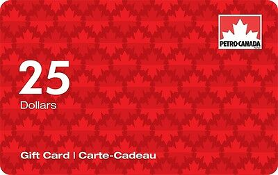 Petro-Canada™ Gift Card - $25 Mail Delivery