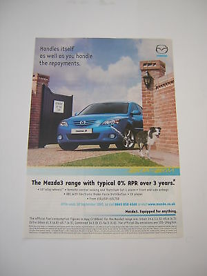 Mazda 3 Advert from 2005 - Original article