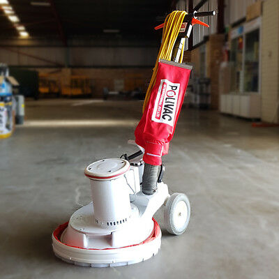 USED NEW MODEL Polivac 40cm Suction Polisher - PV25 FLOOR SUCTION VACUUM CLEANER
