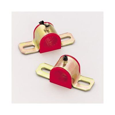 """Energy Suspension Bushings Front/Rear Sway Bar Polyurethane Red 7/8""""/22mm Dia"""