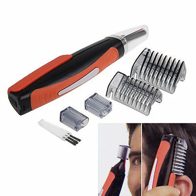 Micro Touch Max Personal Nose Ear Neck Hair Trimmer Shaver Grooming Remover Kit