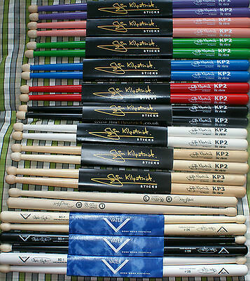 Drum sticks Jim Kilpatrick Vic Firth Stephen Creighton Vater Drumming Mad