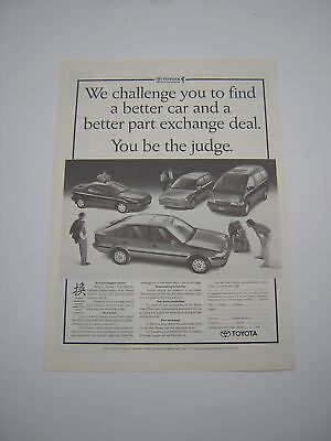 Toyota Advert from 1991 - Original