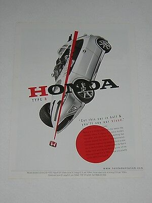 Honda Civic Type R Advert from 2007 - Original Ad Advertisement