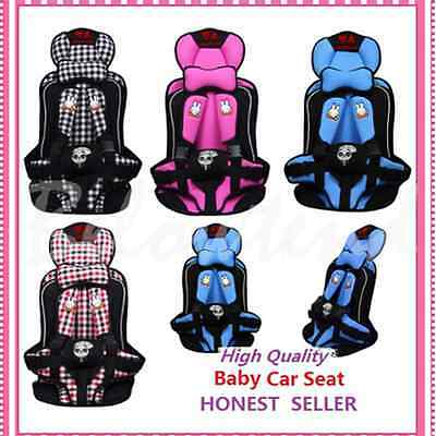 Safety Infant Child Baby Car Seat Seats Carrier Portable Pink/Blue/Red/Gray