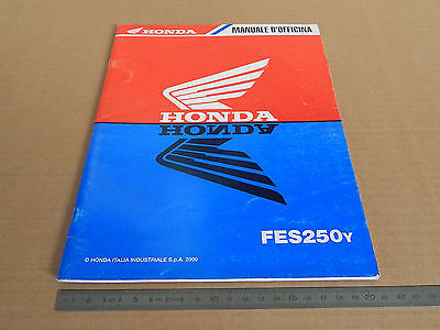 Supplemento Manuale Officina Honda Foresight Fes 250 Y Anno Di Stampa 2000