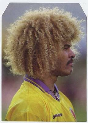 Scarce Trade Card of Carlos Valderama, Football 1997