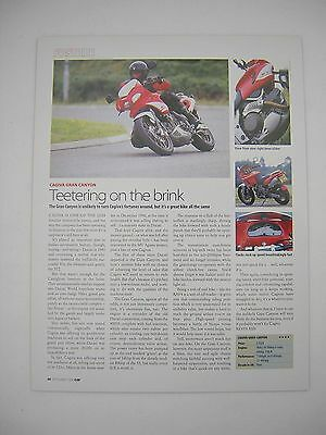 Cagiva Gran Canyon Road Test article from 1998 - Original