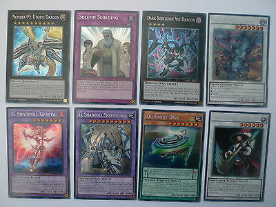 The New Challengers Secret Rare Singles * NECH  * Pick Your Favourite * Yu-gi-oh