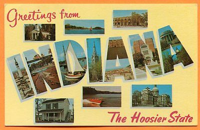 Greetings from Indiana, the Hoosier State, Old Dexter Press Multiview