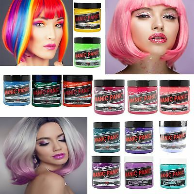Manic Panic Classic & Creamtone Hair Dye Vegan Semi Permanent All Cream Colours
