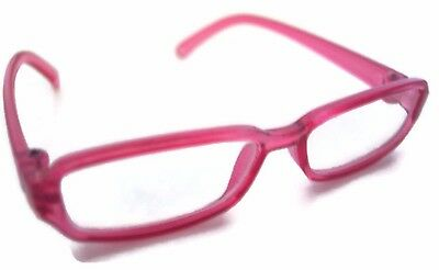 """Pink Rimmed Eye Glasses made for 18"""" American Girl Doll Clothes"""