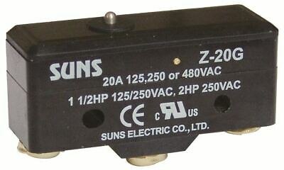 SUNS Z-20G Plunger 20A Micro Switch