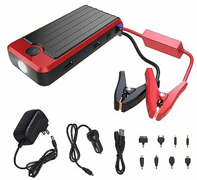 PowerAll PBJS12000R Portable Battery & Electronics Charger 12000mAh Lithium Ion