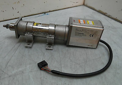 IAI Electric Linear Actuator w/Built-in Controller, ERC2-RA7C-1-PM-4-50-PN-M-FT