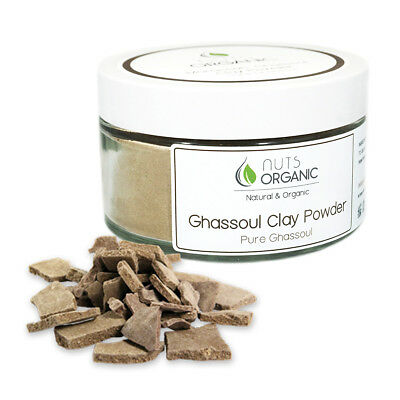 MOROCCAN NATURAL GHASSOUL (RHASSOUL) CLAY POWDER  250g FOR HAIR, BODY, FACE