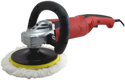 "New 7"" Electric Variable Speed Car Polisher Buffer Waxer Sander Detail Boat"