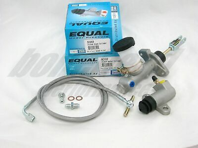 Exedy Slave Master Cylinder & Stainless Clutch Line for 1991-1998 Nissan 240SX