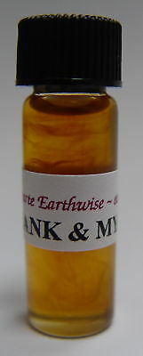 FRANKINCENSE & MYRRH OIL 5ml SPELL Wicca Witch Pagan ENHANCE HEALING PROTECTION