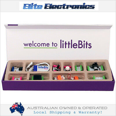 Littlebits Base Kit Kids Teacher Family Electronics Building Project Learning