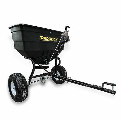 Broadcast Seed Spreader Seeder Fertiliser ATV Quad Bike Mower Tractor Warranty