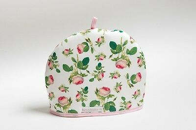 Roy Kirkham Redoute Rose Tea Cosy Tea Pot Teapot Warmer Cotton Padded Insulated