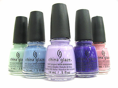 China Glaze Polish -  1146-1156 1201 - 5% OFF WHEN BUY 2 OR MORE