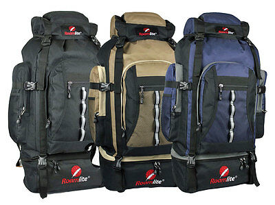 80 85 Litre Backpacks Rucksacks Bags Camping Rucksack Bergen Bag Roamlite RL02M