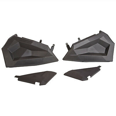 Polaris New OEM RZR Molded Lower Half Doors-Black 2879509