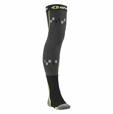 New Pair Of LG/XL Size EVS Fusion Socks/Knee Brace Sleeves Combo For Off-Road/MX