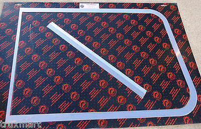 windshield trim (3 pieces) exterior 405 stainless steel 1977-1987 Peterbilt 359