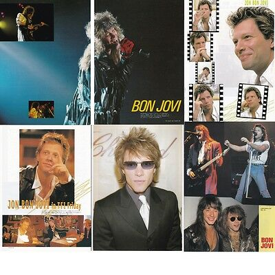 Bon Jovi - Japan Magazine Photo Pin-Up Clippings