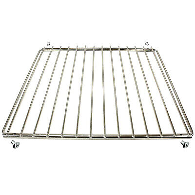 BBQ Adjustable Grill Shelf Rack Extendable Screw Fix Arms Barbecue Grid