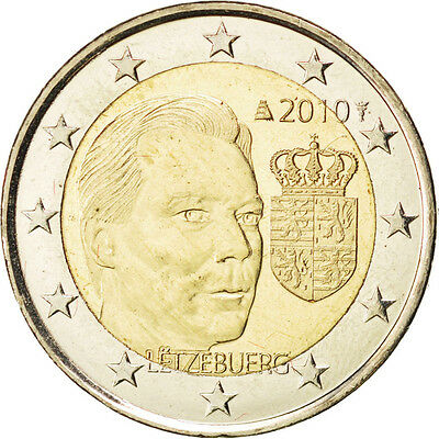 EUR, Luxembourg, 2 Euro Armoiries du Grand-Duc 2010 #84999