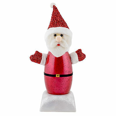 25cm Santa Claus Musical Tune Song Light Up LED Christmas Xmas Decoration Figure