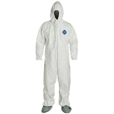 Dupont Tyvek Coverall With Hood and Boot Each