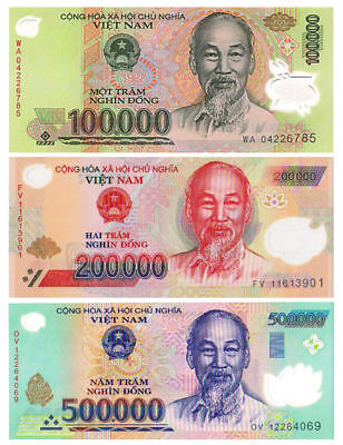 2,000,000 Vietnam Dong Bank Note Vietnamese Currency