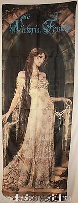 RARE-Victoria Frances Sanctuary Gown OOP Cloth Fabric Poster Flag Textile-New!
