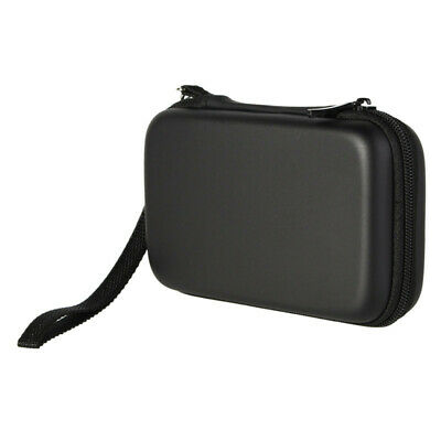 """Black Hard Carry Bag Case Cover for 2.5"""" HDD Hard Disk Drive 3.5"""" 4.8"""" 5"""" GPS"""