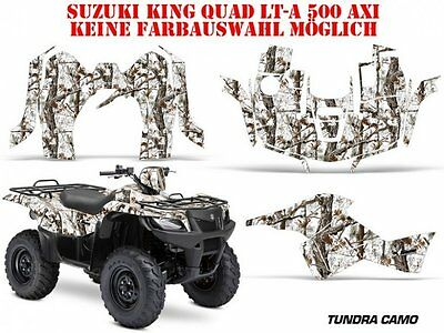 Amr Racing Dekor Kit Atv Suzuki King Quad Lta 450/500/700/750 Tundra Camo B