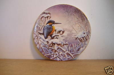 ~Snowy Sunrise~The Winter Garden~Collector Plate~
