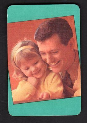 Vintage Swap/Playing Card - Father & Daughter