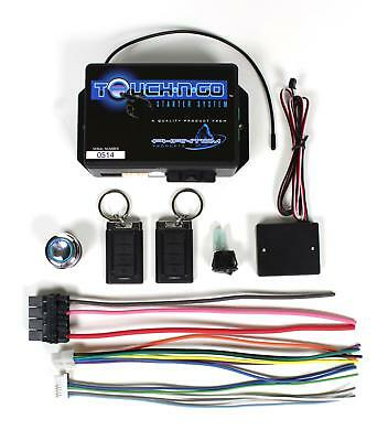 Ididit Touch-N-Go Keyless Ignition System 2600670100