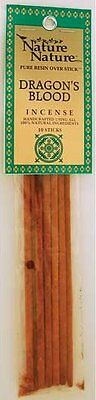 10 x DRAGON'S BLOOD NATURE INCENSE STICK Wicca Witch Reiki Pagan Goth Punk