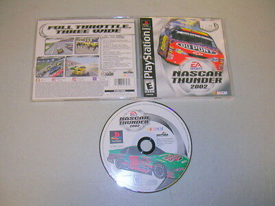 NASCAR THUNDER 2003 03 (Playstation 1 PS1 PSX) Complete BLACK LABEL