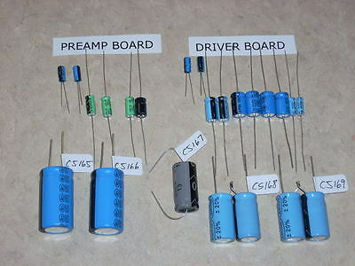 Seeburg Jukebox Solid State Amp Electrolytic Kit For Shp-1 Shp-2 Or Shp-3 Amps