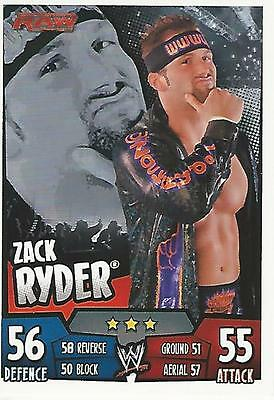 WWE Topps Slam Attax Rumble Trading Card Zack Ryder