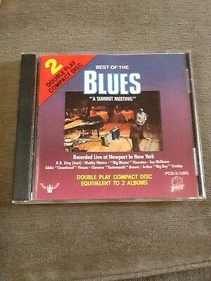 Best Of The Blues: A Summit Meeting - Recorded Live At Newport In New York - CD